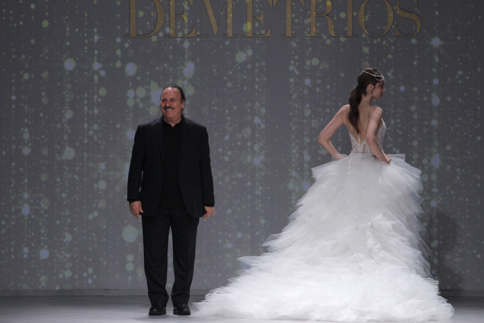 DEMETRIOS DESIGNER, BARCELONA BRIDAL FASHION WEEK